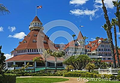 Coronado del有历史的旅馆