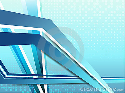 Corporate blue background