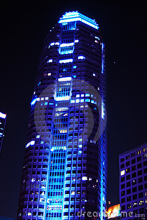 Corporate Blue Building