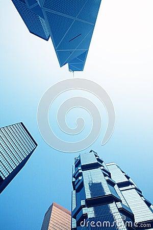 Corporate building in Hongkong