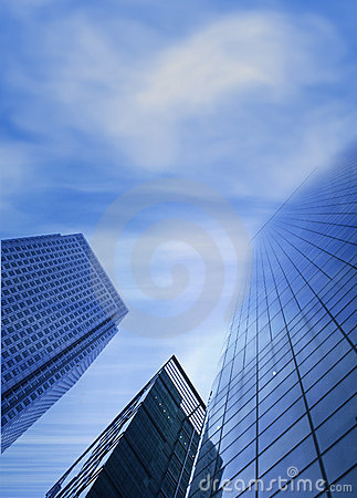 Corporate buildings - sky is the limit