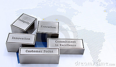 Corporate Business Values Stock Images - Image: 15688614