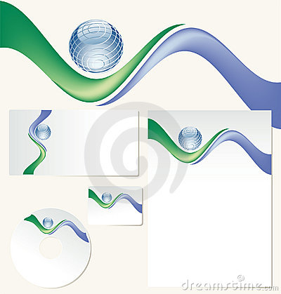 Corporate Design Royalty Free Stock Image - Image: 7837276