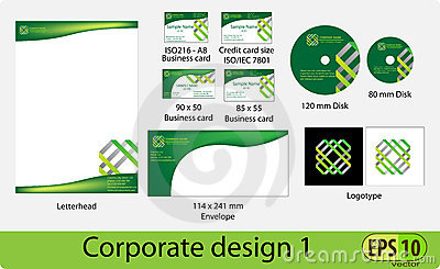 Corporate design pack