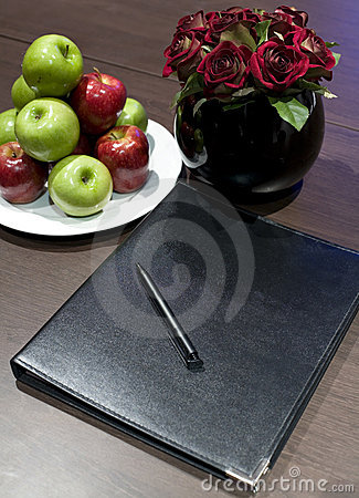 Free Corporate Display Book Stock Images - 9703734