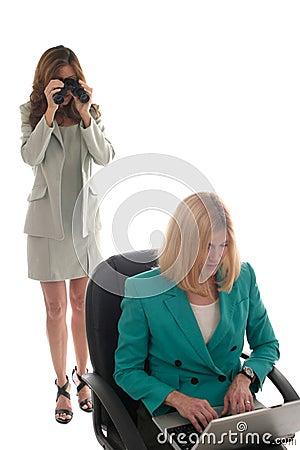 Free Corporate Espionage 1 Royalty Free Stock Photo - 917735