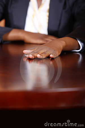 Corporate hand
