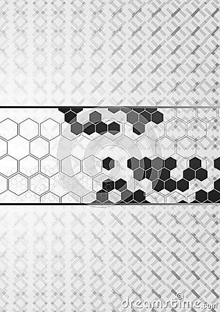 Corporate hi-tech vector background