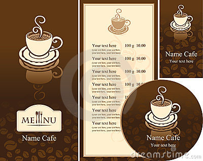Corporate identity for the cafe