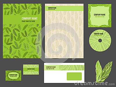 Corporate identity (stationery) for company