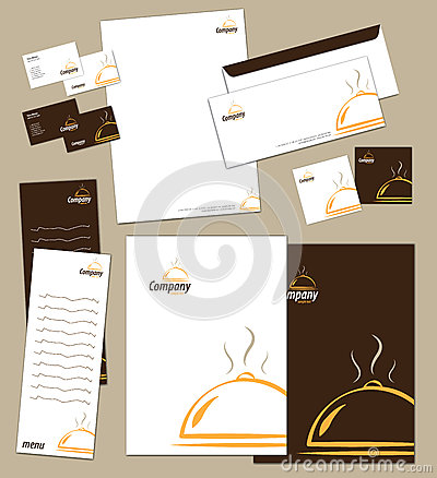 Corporate Identity Template Royalty Free Stock Photos - Image: 27059528