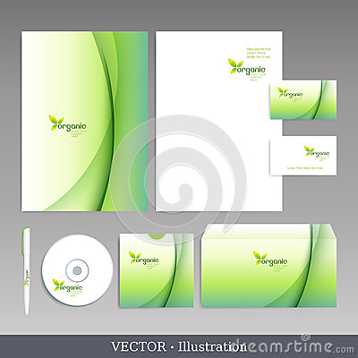 Free Corporate Identity Template. Royalty Free Stock Photos - 28316528