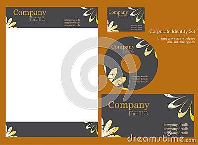 Corporate identity template.