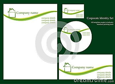 Corporate identity template - set 1