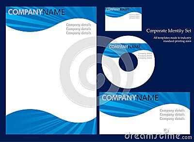 Corporate identity template - set 3