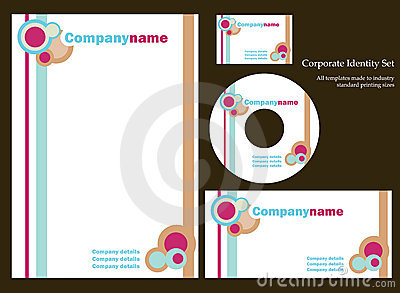 Corporate identity template - set 3
