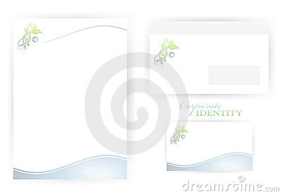 Corporate identity templates with DNA