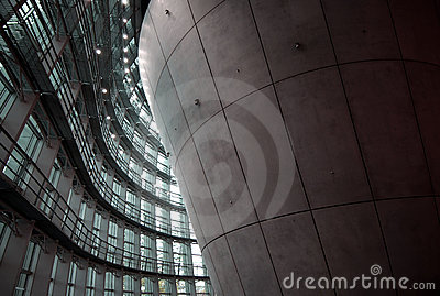 Corporate Lobby Stock Image - Image: 16611601