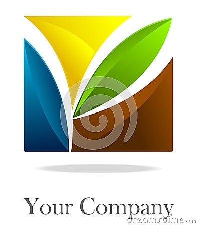 Corporate  logo square