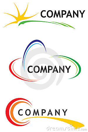 Corporate Logo Templates Royalty Free Stock Photography - Image ...