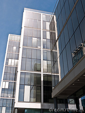 Corporate office buildings.