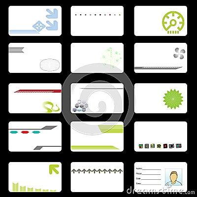 Corporate Tech Business Cards