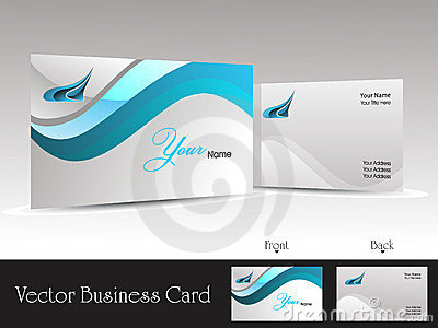 corporate vector business card templates