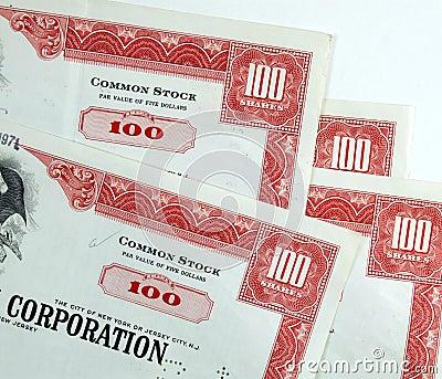 Corporation common stock shares