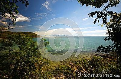 Corral Sea panorama