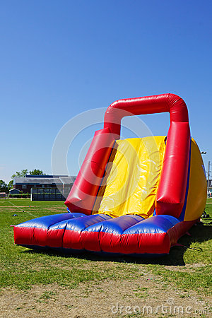 Corrediça inflável