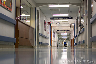 Corredor do hospital