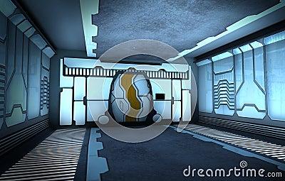 [UnderGround Base] Ignius Bunker Corridor/Entrance  Corredor-futurista-16383261