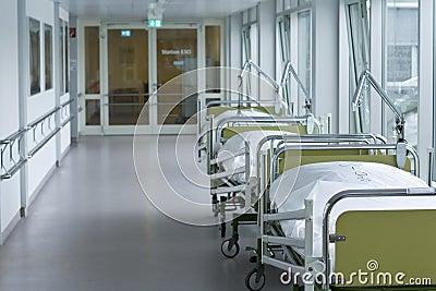 Corredor no hospital