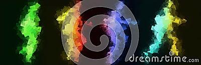 Corredores de arco iris