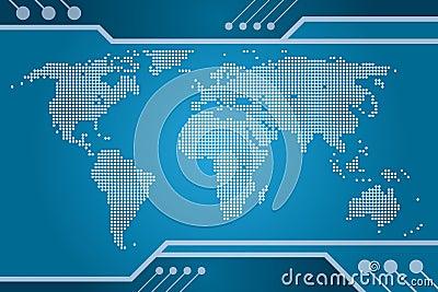 Correspondencia de la tecnología del mundo