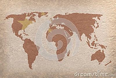 Correspondencia de mundo de China