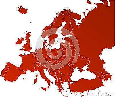 Correspondencia del vector de Europa