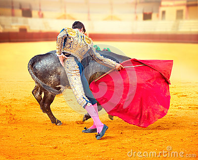 Corrida. Spanish Bullfight