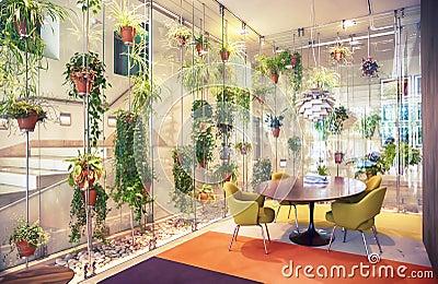 Corridoio della casa moderna fotografia stock immagine for Architettura moderna della casa