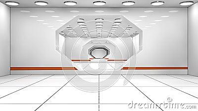 Corridoio futuristico