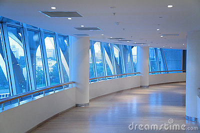 Corridor of circle
