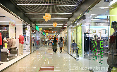 Corridor In mall