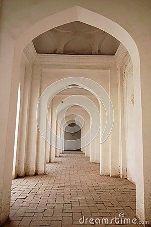 Free Corridor Of An Islamic Building Stock Photos - 12289143