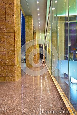corridor outside