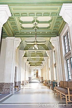 Corridor of the Peace Palace
