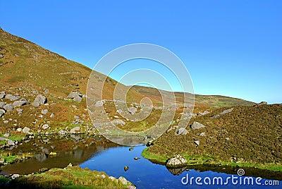 Corrie Coumshingaun lake. Ireland.