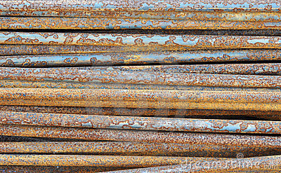 Corroded metal pipes