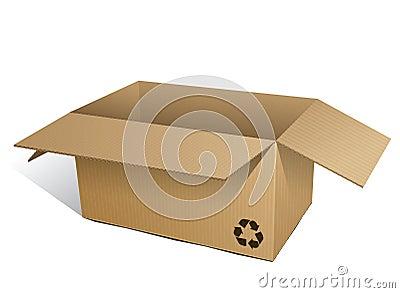 Corrugated box (ecologic)