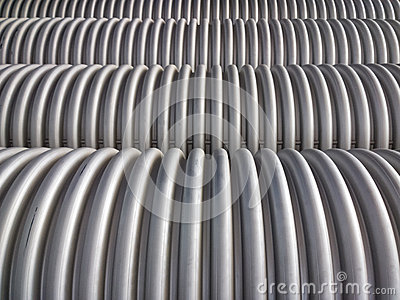 Corrugated plumbing pipe
