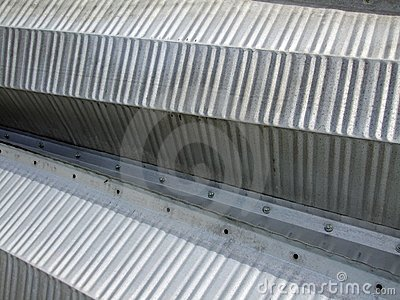 Corrugated steel